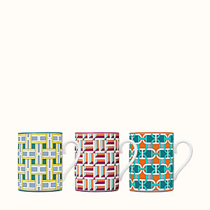 Coffret de 3 mugs Tie Set