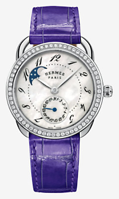 Arceau Petite Lune watch, large model 38 mm - W041035WW00