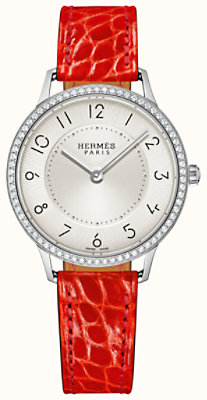 Slim d'Hermes watch, medium model 32 mm