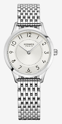 Slim d'Hermes watch, small model 25 mm - W041736WW00