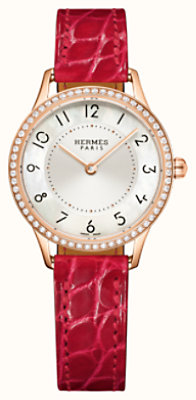 Slim d'Hermes watch, 25 mm