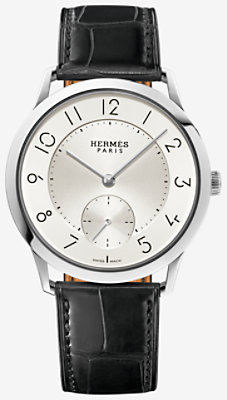 Slim d'Hermes watch, large model 39.5 mm - W041759WW00
