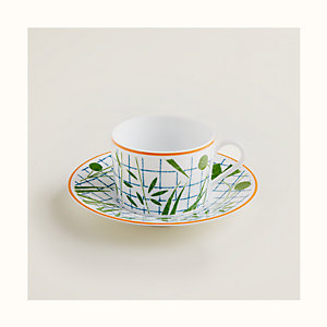 Taza de té y platillo A Walk in the Garden