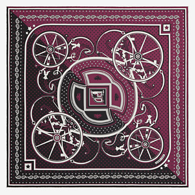 Washington's Carriage Cut bandana 55 -