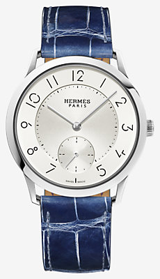 Slim d'Hermes watch, small model 39.5 mm -