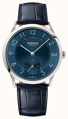 Slim d'Hermes watch, 39.5 mm