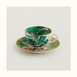 Passifolia tea cup and saucer