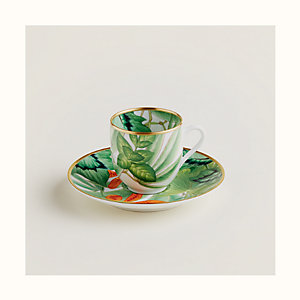 Passifolia coffee cup and saucer