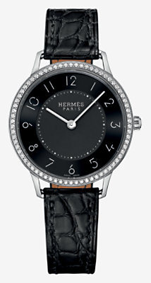 Slim d'Hermes watch, medium model 32 mm -