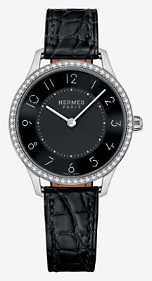 Slim d'Hermes watch, small model 25 mm -