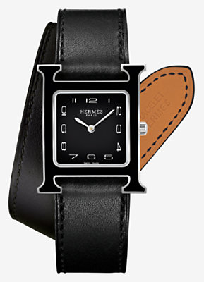 Heure H watch, medium model 26 x 26 mm -