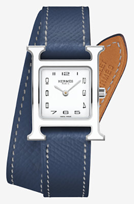 Heure H watch, 21 x 21 mm -