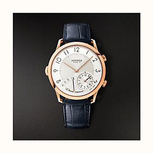 Slim d'Hermes L'Heure Impatiente watch, 40.5 mm