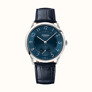 Slim d'Hermes Manufacture watch, 39.5 mm