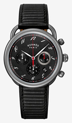 Arceau Chronographe watch, 41 mm -