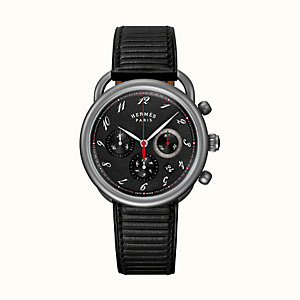 Arceau Chronographe watch, 41 mm