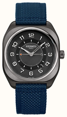 Hermes H08 watch, 39 x 39 mm