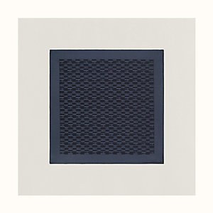 Façonnee Grand H pocket square 45