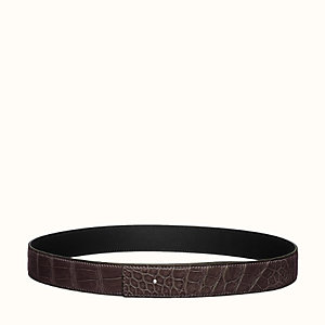 Leather strap 32 mm