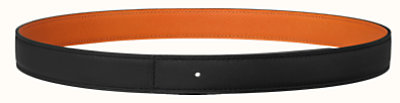 Reversible leather strap 24 mm