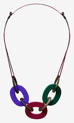 Dip Dye necklace -
