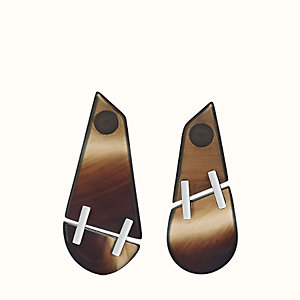 Suture earrings