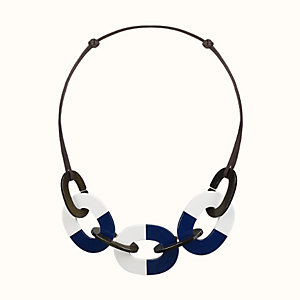 Karamba colorblock necklace