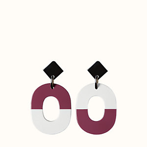 Isthme colorblock earrings