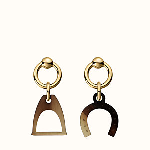 Amulettes Equestre earrings