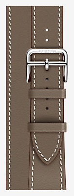 Bracelet Apple Watch Hermès Double Tour 38 mm Long -