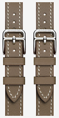 Bracelet Apple Watch Hermès Manchette Double Boucle 38 mm -