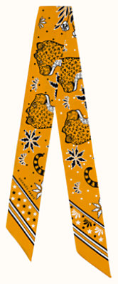 Les Leopards Bandana twilly