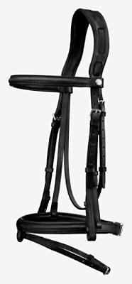 Ergonomic Hunter/Jumper bridle -