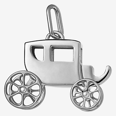 Carriage Curiosite charm, large model -