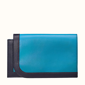 Camail long combined wallet, large model