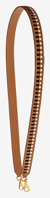Tressage cuir 25 mm bag strap -