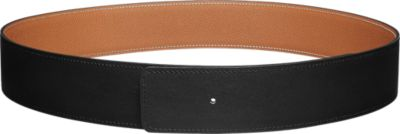 Reversible leather strap 42 mm