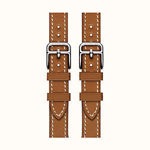Cinturino Apple Watch Hermès Manchette Double Boucle 38 mm