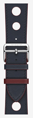 Armband Apple Watch Hermès Single Tour 42 mm Rallye -