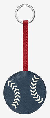 Baseball key ring -