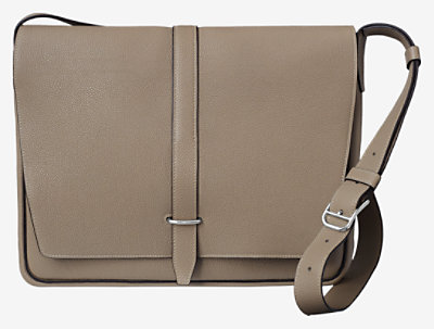 Steve light messenger bag -