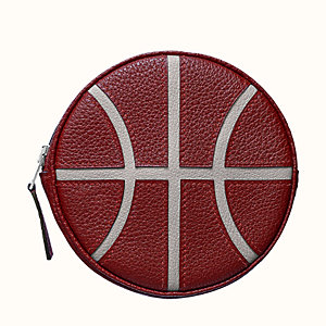 Basketball change purse