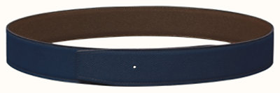 Reversible leather strap 38 mm
