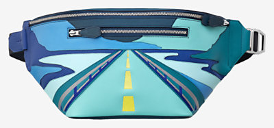 "Cityslide ""Endless Road"" belt bag -"