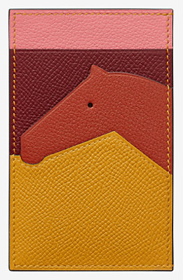 Les Petits Chevaux card holder -