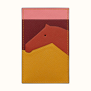 Les Petits Chevaux card holder