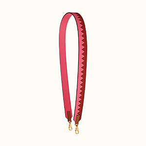 Tressage cuir Au galop 30 mm bag strap