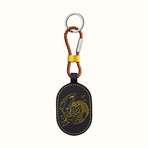 Bicolor Sailor Tattoo key ring