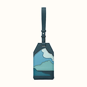 """Endless Road"" luggage tag"