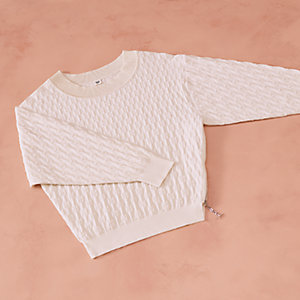 """Chaines d'Ancres"" zipped sweater"